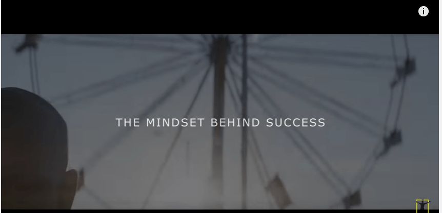 The Mindset Behind Success